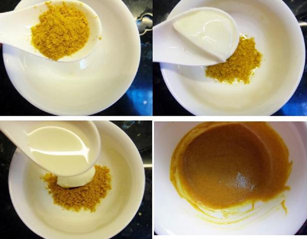 cách trị tàn nhang bằng bột nghệ và sữa chua 2