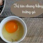 5 Cách trị tàn nhang bằng trứng gà với nguyên liệu tự nhiên( mật ong, Vitamin E…)