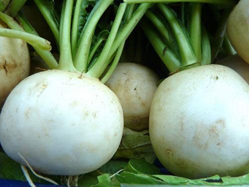 Củ cải và nước chanh cũng là mặt nạ trị tàn nhang hữu hiệu