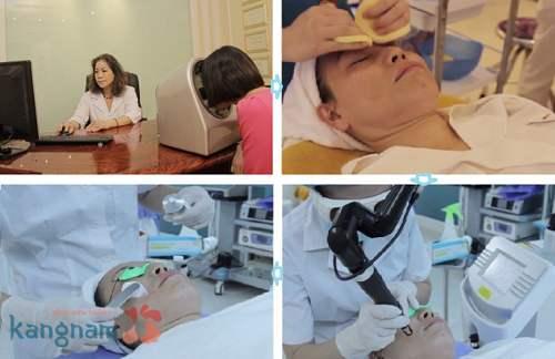 Điều trị tàn nhang bằng công nghệ Laser Toning