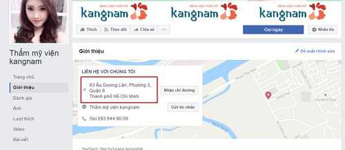 Thẩm mỹ viện Kangnam ở đâu