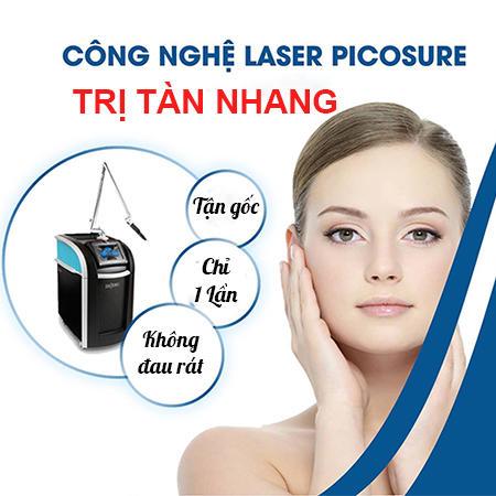 Trị tàn nhang bằng laser picosure 6